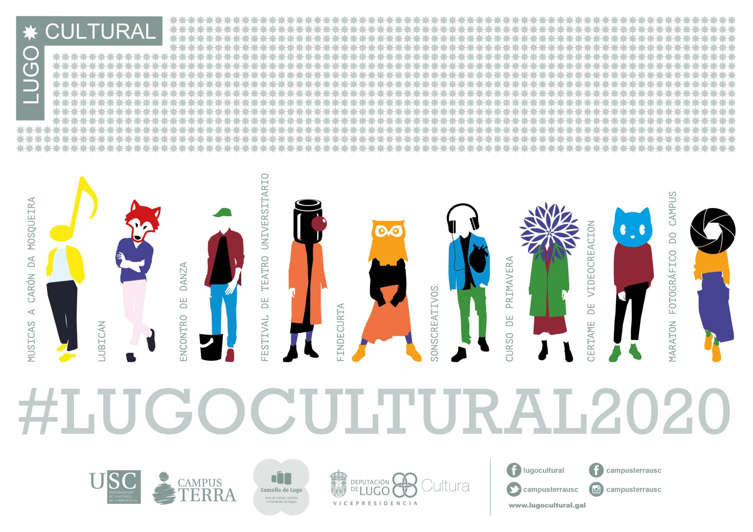 Programación Lugo Cultural 2020